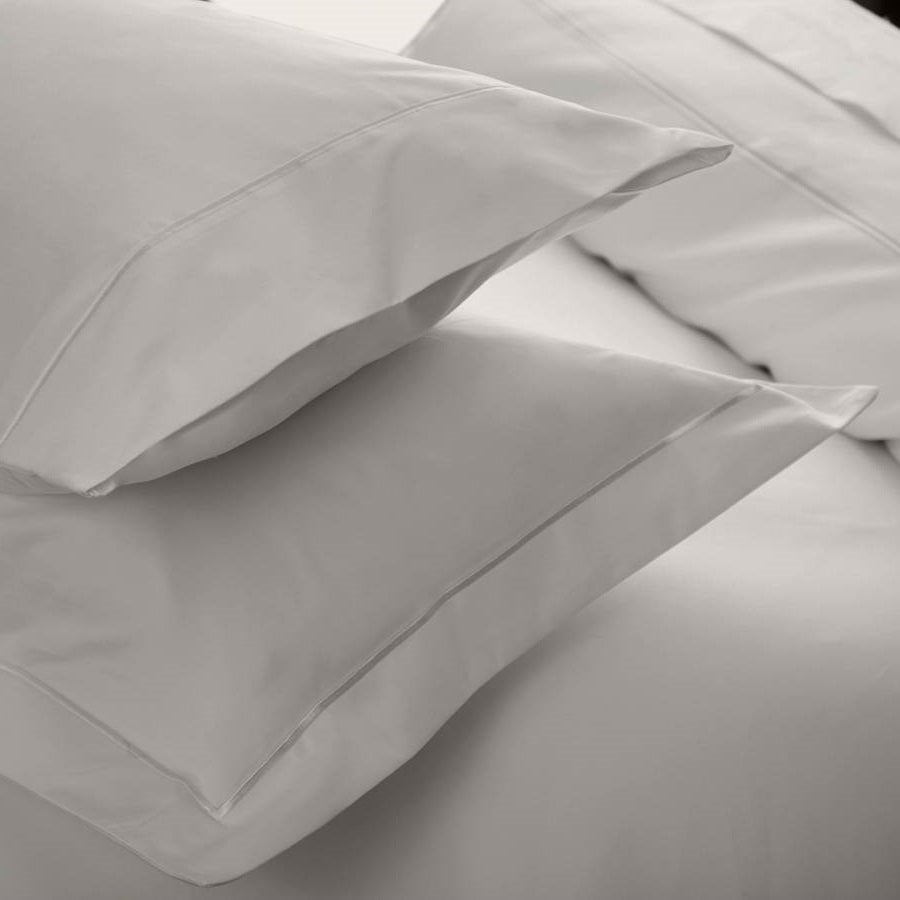 Fine Pure Cotton 1200TC Platinum Bed Linen - 50% OFF