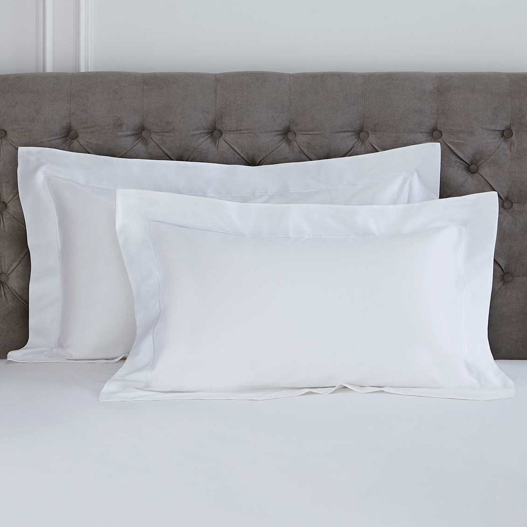 Egyptian Cotton Blend 400TC SUPER KING Oxford Pillowcases - 50% OFF