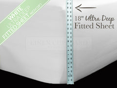 Easy Care Polycotton ULTRA Deep Fitted Sheets