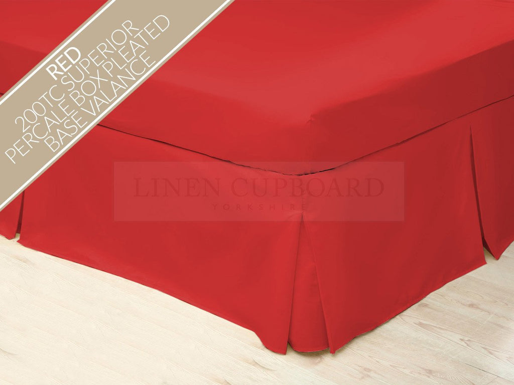 Percale Valances - All Colours