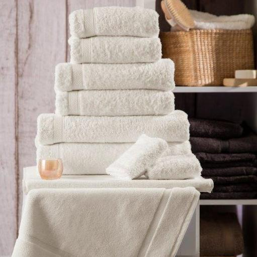 Luxury 5* Hotel Suite Cotton Ivory Towels - 50% OFF