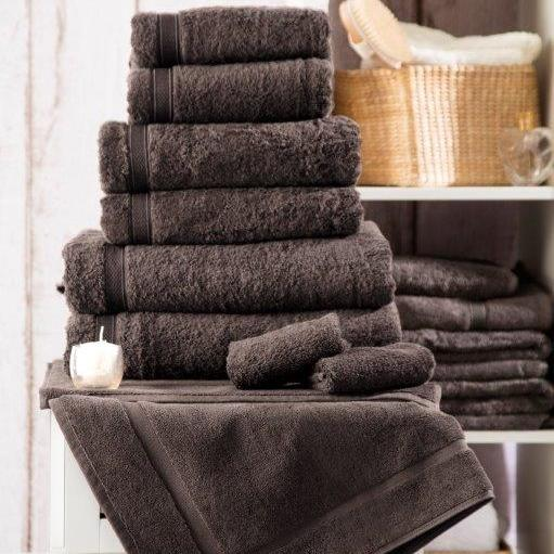 Luxury 5* Hotel Suite Cotton Slate Towels