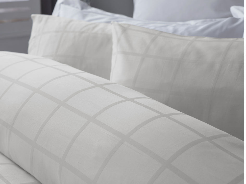 Union Square Ivory 300TC Duvet Cover Sets - 50% OFF