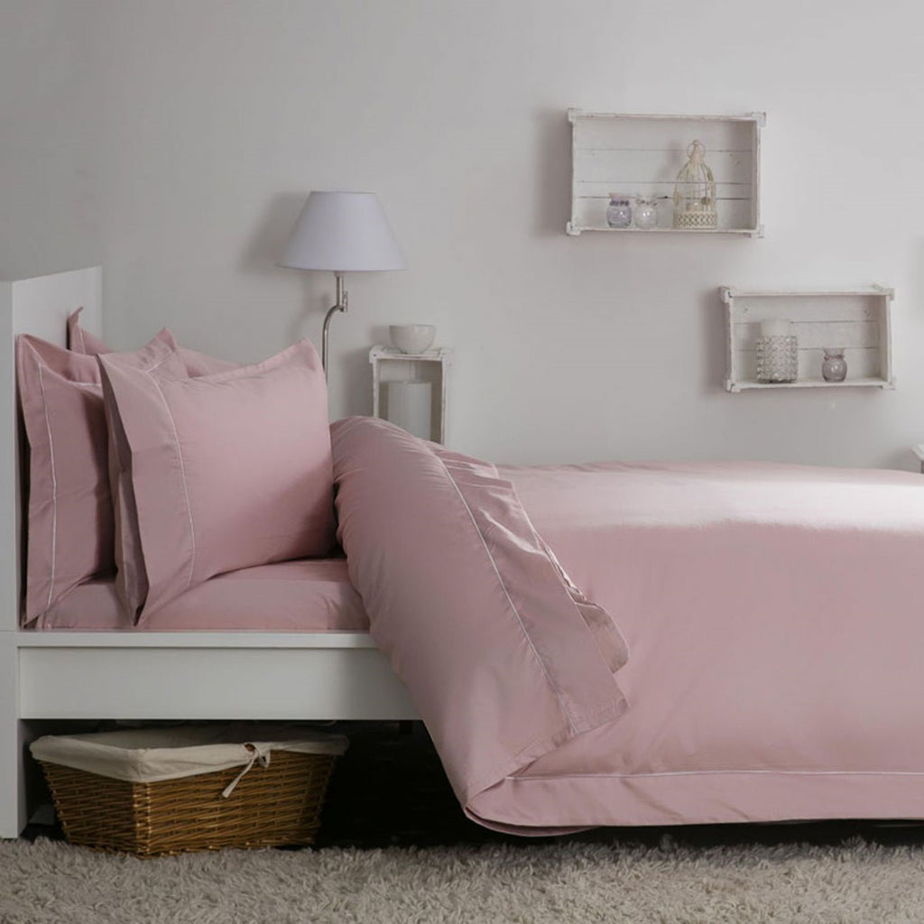 Egyptian Cotton Blend Sateen 400TC Blush Bedding - 50% OFF