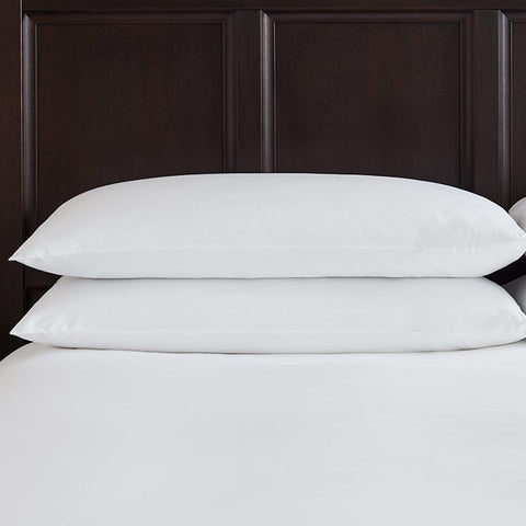 Classic 100% Cotton Percale Emperor Pillowcase Pair