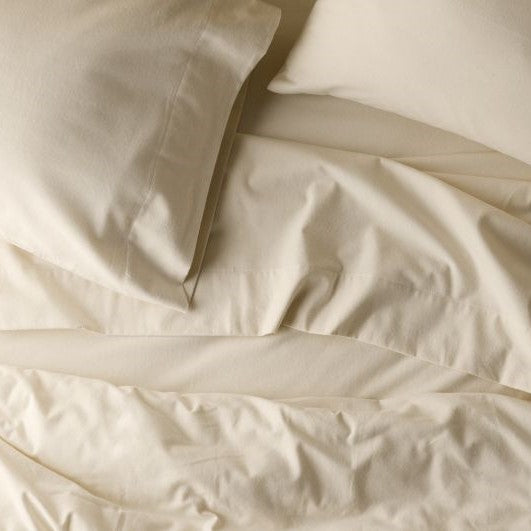 Superior Luxury Flannelette 100% Cotton Cream Pillowcases - 50% OFF