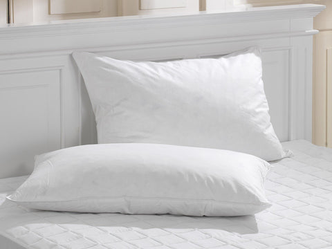 Special Offer Duck Feather & Down Cotton Premium Pillow Pair
