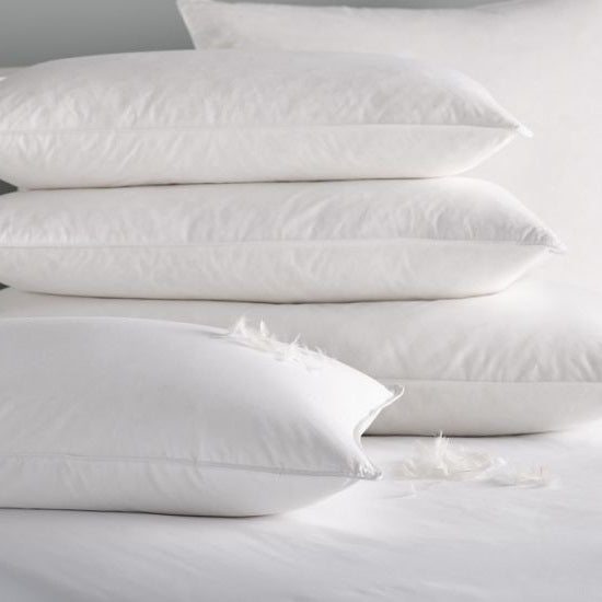 Delightful Duck Feather & Down KINGSIZE Pillow Pair - 50% OFF