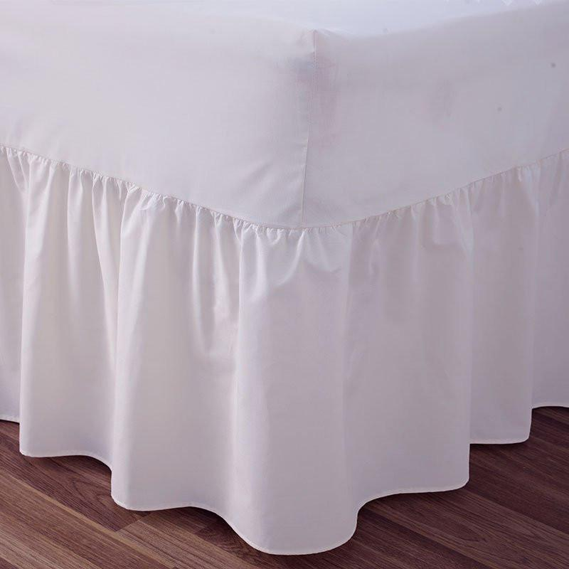 Frilled Fitted Valance Sheets