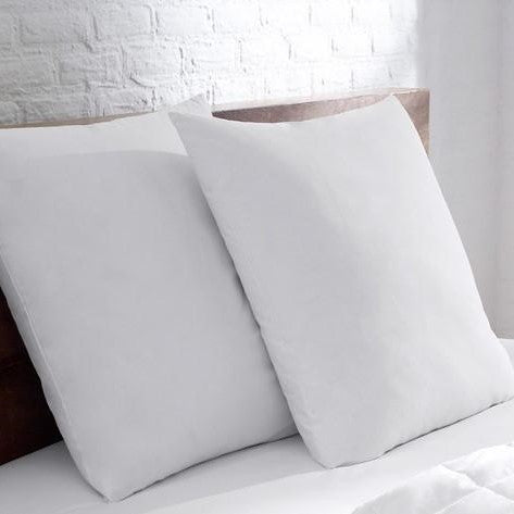 Cotton Housewife Pillow Cases, White