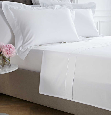 25cm Fitted Bed Sheet With Pillow Case FREE Set Bedding UK NEW Polycotton 10/'/'