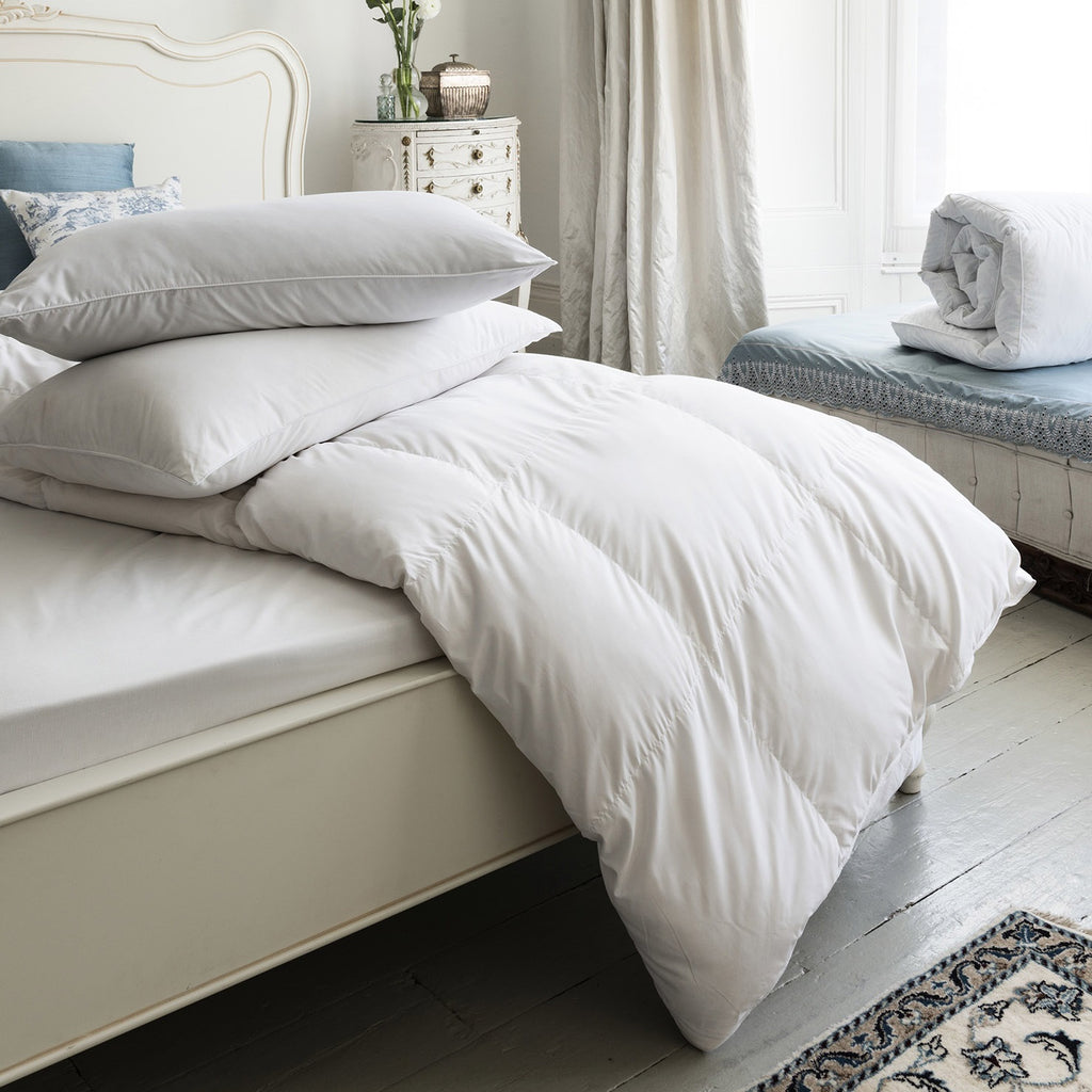 Delightful Duck Feather & Down LARGE EMPEROR Pillows