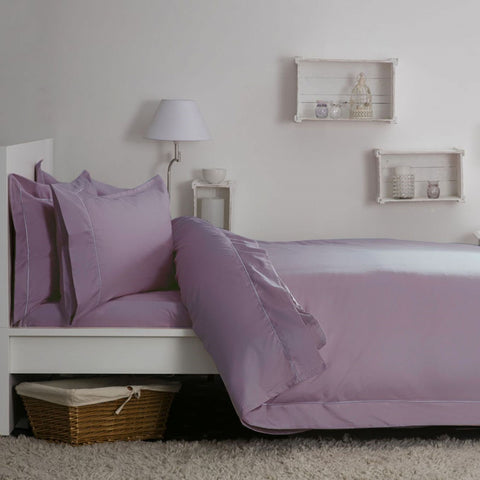 Egyptian Cotton Blend Sateen 400TC Mulberry Bedding - 50% OFF