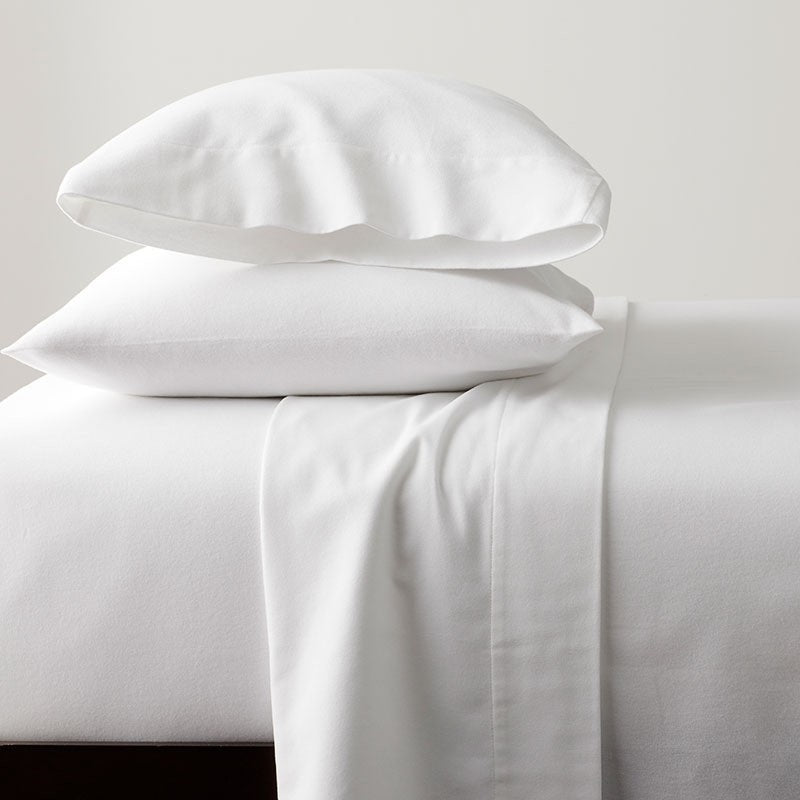 Superior Luxury 100% Cotton White Flannelette Bedding