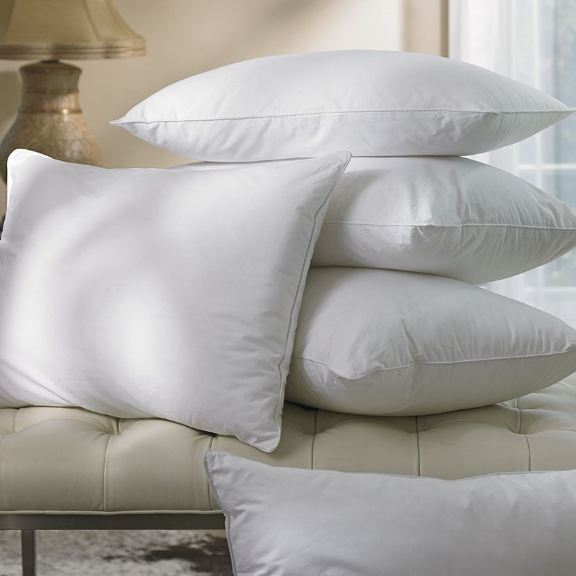 British 5* Luxury Hotel Supply ECO2 Cluster OVERSIZED Pillow Pair