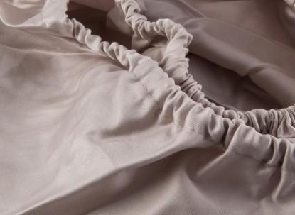 Egyptian Cotton Percale 200TC OYSTER Extra Deep Fitted Sheets