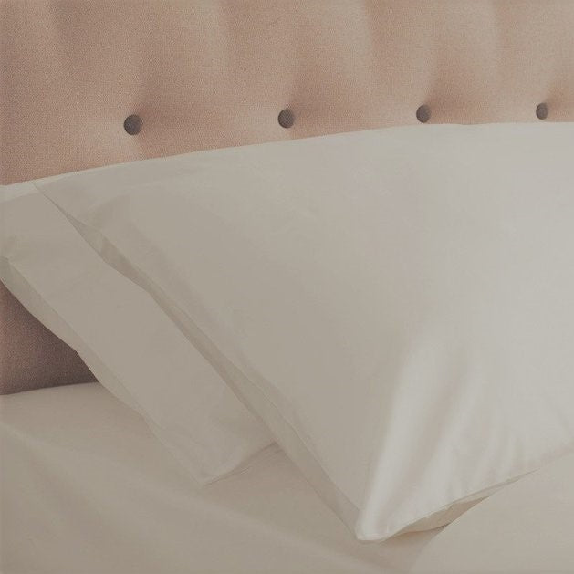 Superior Luxury Percale 200TC SUPER KING Pillowcase Pair