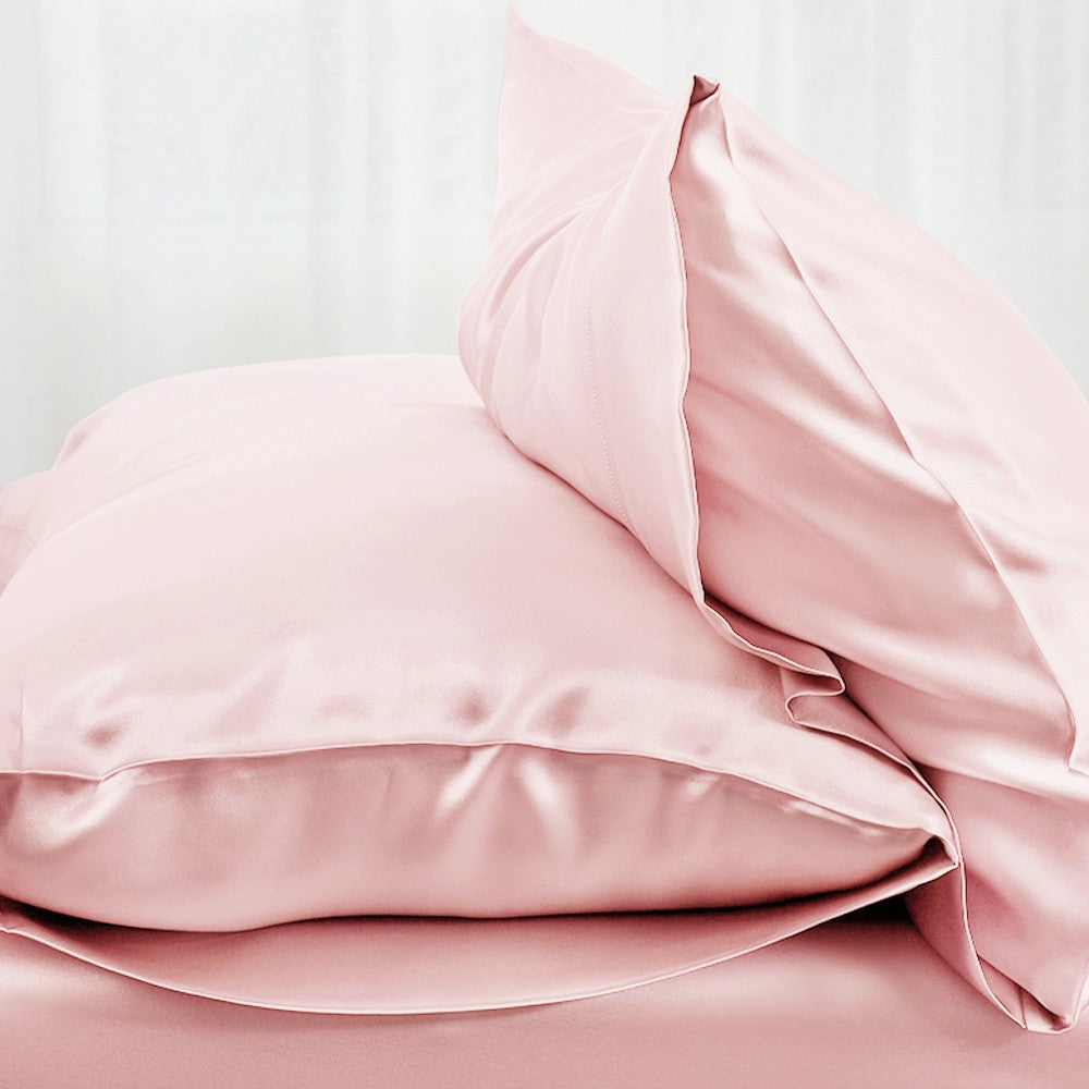 Pure 100% Mulberry Silk Pink Pillowcases