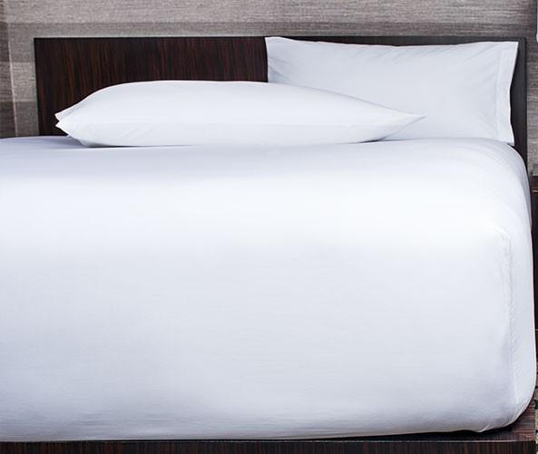 "Egyptian Cotton Sateen 400TC Ultra Deep 18"" Fitted Sheets"