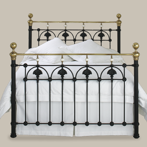 Easycare Polycotton - Iron Bed Split Base Valance