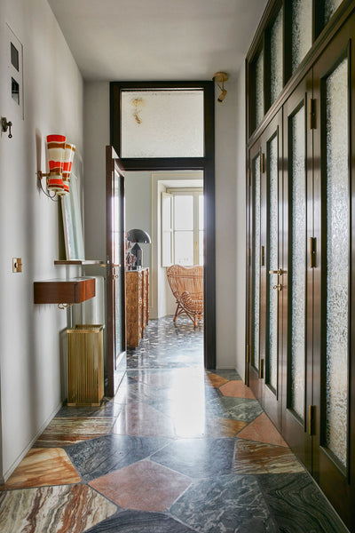 apartment in Via Catone in Rome by Massimo Adario Architetto  Source: https://www.yellowtrace.com.au/massimo-adario-architetto-casa-via-catone-rome/
