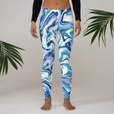 Blue/Purple Marble Leggings