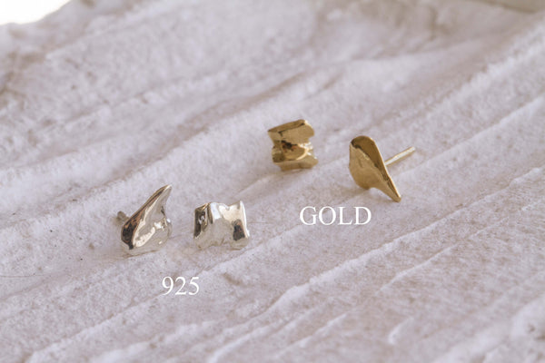 Debris Stud Earrings