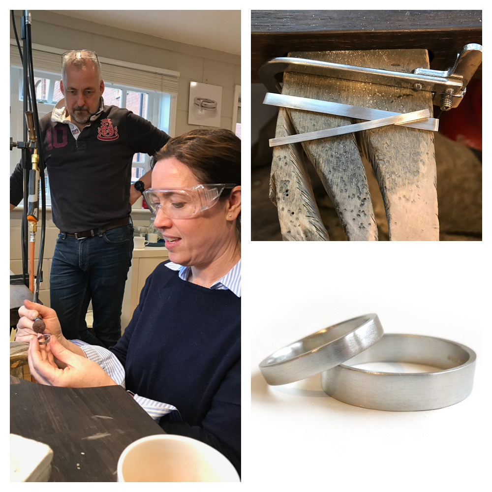 Make your own wedding rings with Sue Lane