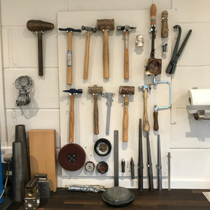 Sue Lane jewellery designer's new workshop/studio