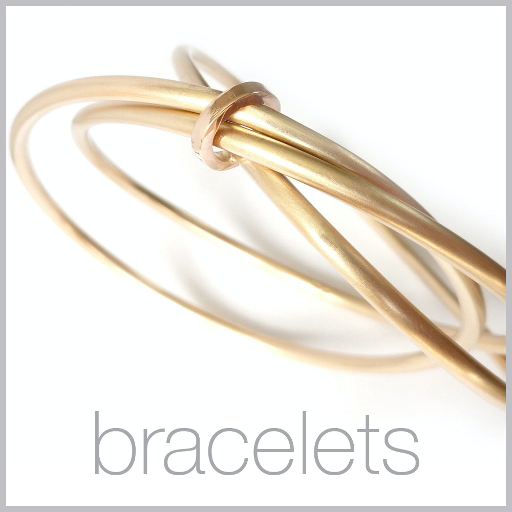 Contemporary jewellery remodelling commissioning bracelets bangles