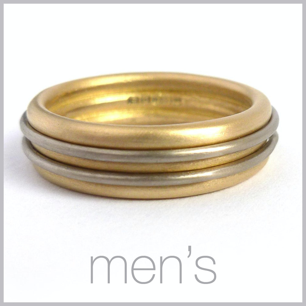 Contemporary jewellery remodelling commissioning for men