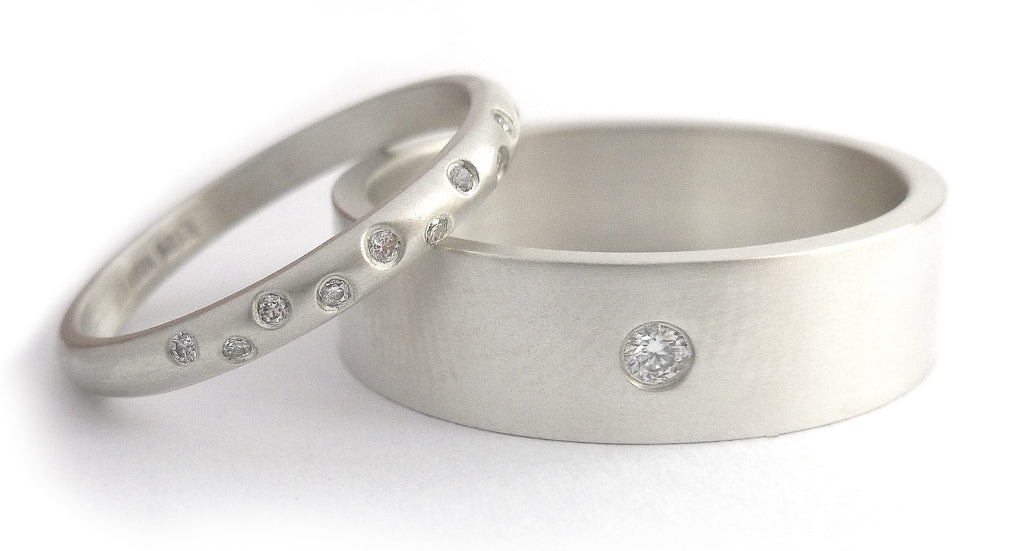 Wedding and engagement rings made to commission