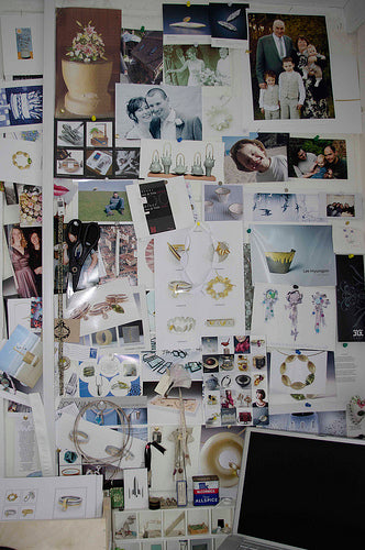 A selection of the inspiration for making contemporary and modern jewellery in Herefordshire.