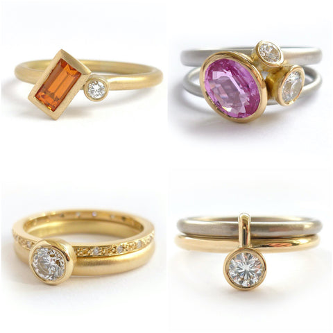 Contemporary Engagement Rings - Advice And Inspiration