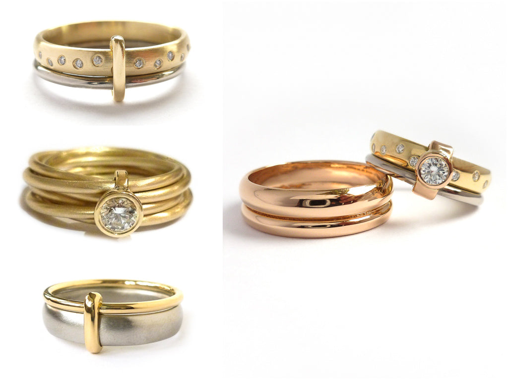 Jewellery commissioning London. Pre-loved, preloved rings.