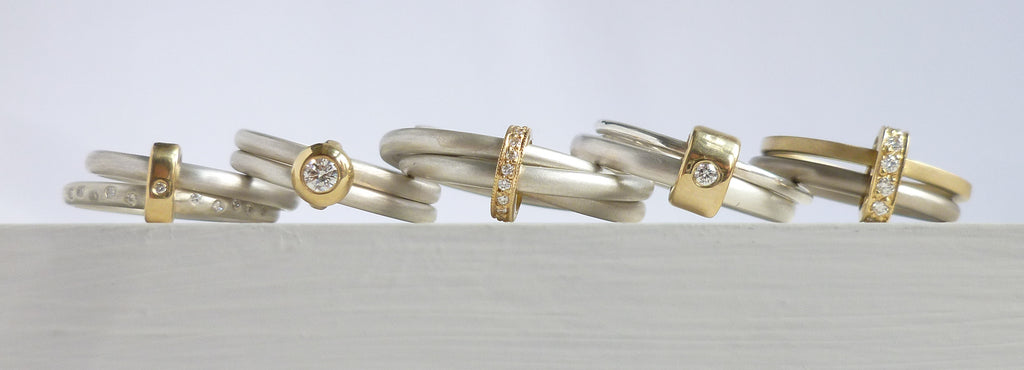 Contemporary Jewellery - handmade, bespoke, remodelled or commissioned.