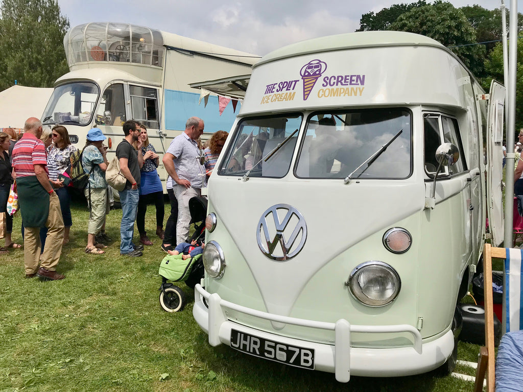 VW ice cream van