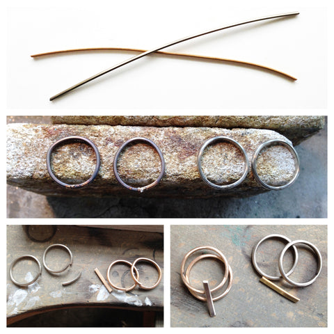 making process of 18k gold rings