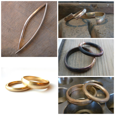 make your own gold wedding rings