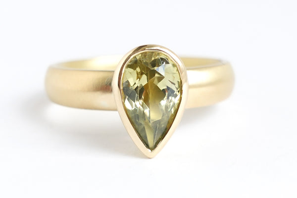 Commission a contemporary ring, bespoke and handmade by Sue Lane