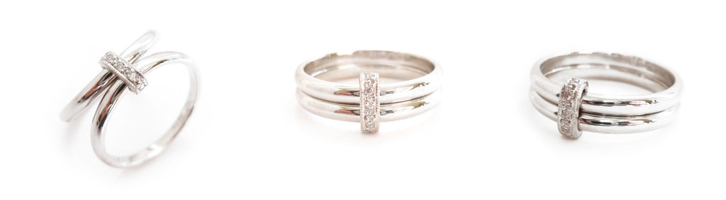 platinum and pave diamond wedding ring