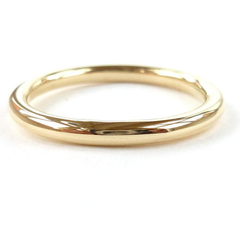 Traditional, plain, wedding band, ring - handmade in Hereford, Herefordshire by Sue Lane contemporary jewellery designer.
