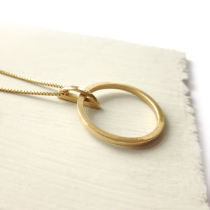 Contemporary jewellery, gold and diamond bespoke handmade necklace pendant.