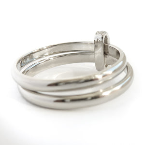 Multi band ring or interlocking ring, sometimes called double band ring too. Contemporary and modern - bespoke and unique too.