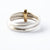 Silver and 18k gold ring (new01) - Sue Lane Contemporary Jewellery - 3