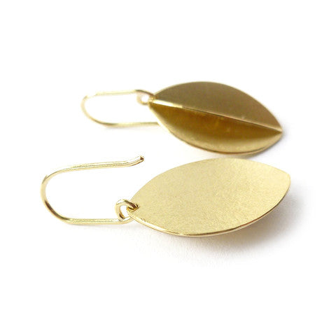 18k gold earrings (fdg-03) - Sue Lane Contemporary Jewellery - 3