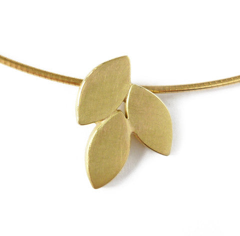 18k Gold Necklace (fdgn07) - Sue Lane Contemporary Jewellery - 2