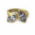SOLD: 18k Gold and Sapphire Ring Set (OF34) - Sue Lane Contemporary Jewellery - 2