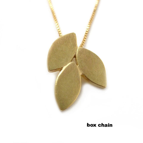 18k Gold Necklace (fdgn07ch) - Sue Lane Contemporary Jewellery