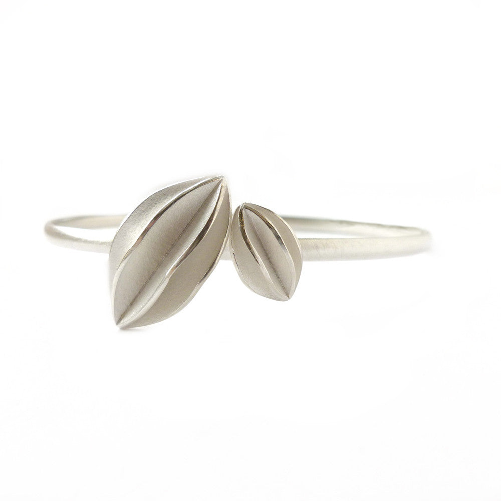 Silver Bangle (bn03) - Sue Lane Contemporary Jewellery - 1
